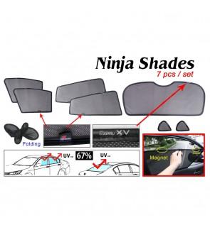 Ninja Sunshade for Subaru XV 2018 (7 Pcs)