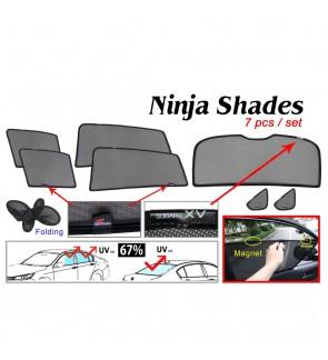 Ninja Sunshade for Subaru XV 2013-2017 (7 Pcs)
