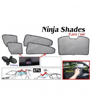 Ninja Sunshade for Mazda 3 (5 Pcs)