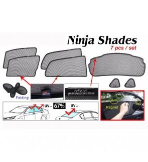 Ninja Sunshade for Myvi 2018 (7 Pcs)