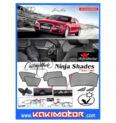Ninja Sunshade for Audi A4 2009-2015 (7 Pcs)