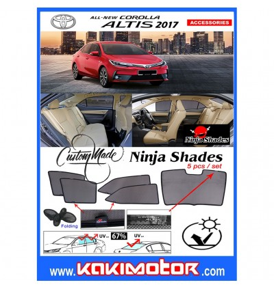 Ninja Sunshade for Altis 2016 (5 Pcs)