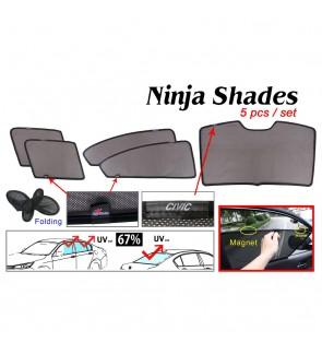 Ninja Sunshade for Honda Civic 2012 (5 Pcs)
