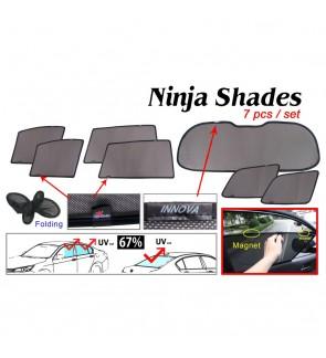 Ninja Sunshade for Toyota Innova 2005-2015 (7 Pcs)