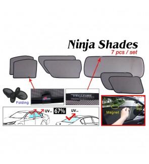 Ninja Sunshade for Toyota Alphard Vellfire ANH20 2008-2014 (7 Pcs)