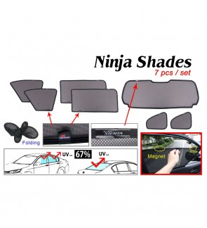 Ninja Sunshade for Toyota Sienta XP170 16+ (7 Pcs)