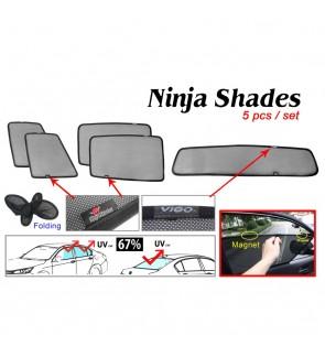 Ninja Sunshade for Toyota Hilux Vigo (5 Pcs)