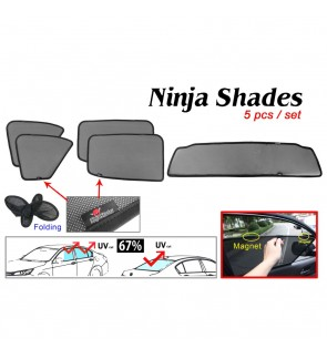 Ninja Sunshade for Ford Ranger T6 T7 (5 Pcs)