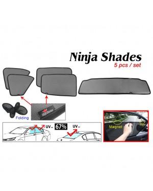 Ninja Sunshade for Ford Ranger T6 T7 (5 Pcs)