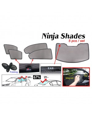 Ninja Sunshade for BMW E60 (5 Pcs)