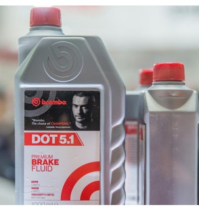 Brembo DOT 5.1 High Performance Brake Fluid (1L)