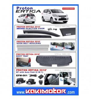 Proton Ertiga Visor/Moulding/Boot Tray/Auto Fold