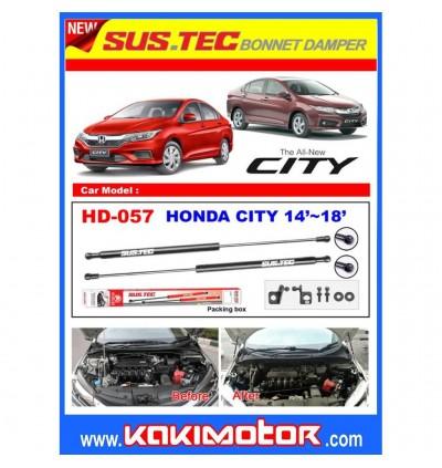 Sus-Tec Bonnet Damper - Honda City GM6 14+