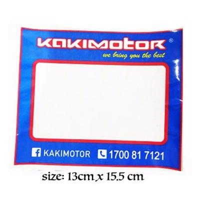 Kakimotor Keychain + Sticker + Road Tax Sticker