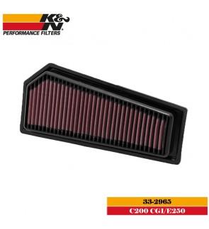 K&N 33-2965 Air Filter - Mercedes C200 CGI / E250 2012