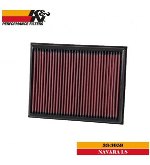 K&N 33-3059 Air Filter - Nissan Navara NP300 2.3