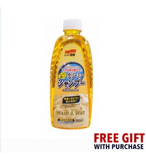 Soft 99 Creamy Shampoo Car Wash & Wax (1L)