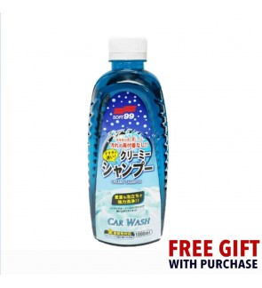 Soft 99 Car Wash Creamy Shampoo (1000ml)