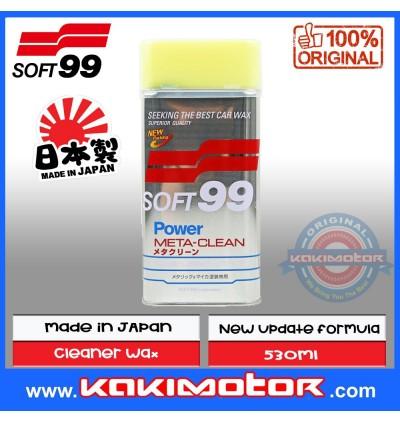 Soft 99 Power Meta-Clean Liquid Wax - Upgrade Formula (530ml)