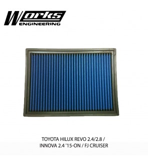 Works Engineering Air Filter - Toyota Hilux Revo 2.4/2.8 / Innova 2.4 15+ / FJ Cruiser