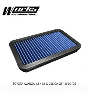 Works Engineering Air Filter - Toyota Avanza 1.3/1.5 & Celica GT 1.8 00-05