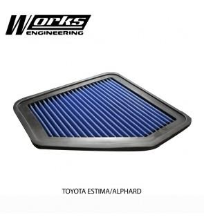 Works Engineering Air Filter - Toyota Estima / Alphard / Vellfire