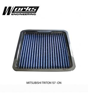 Works Engineering Air Filter - Mitsubishi Triton 2.5 07+