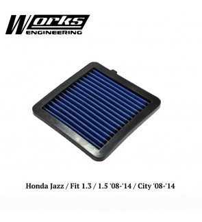 Works Engineering Air Filter - Honda Jazz GE 1.3/1.5 /City 08-14