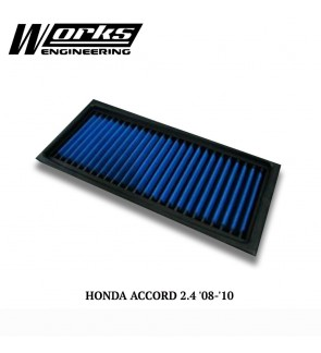 Works Engineering Air Filter - Honda Accord CP 2.4 08-10