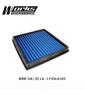 Works Engineering Air Filter - BMW 318/Z3 1.8/1.9 E36 8/16V