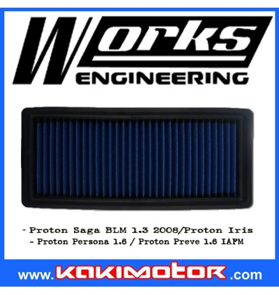 Works Engineering Drop in Filter - Proton Persona/Saga BLM/Iriz