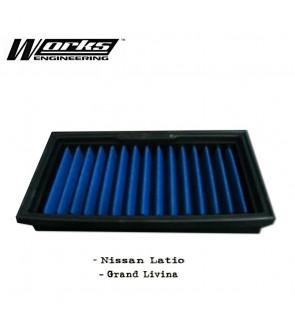 Works Engineering Drop in Filter - Nissan Latio/Grand Livina