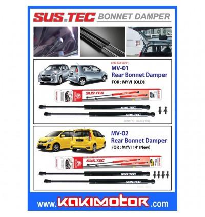 Sus-Tec Rear Bonnet Damper for Myvi