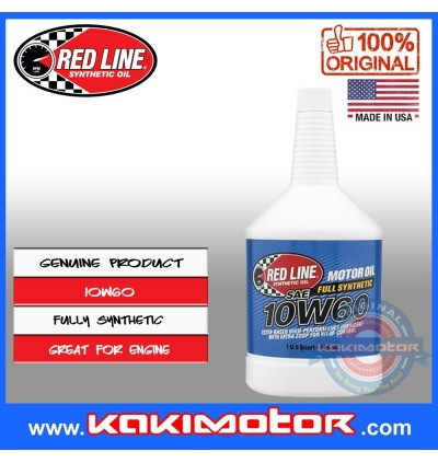 Red Line 10W60 Engine Oil (946ml)