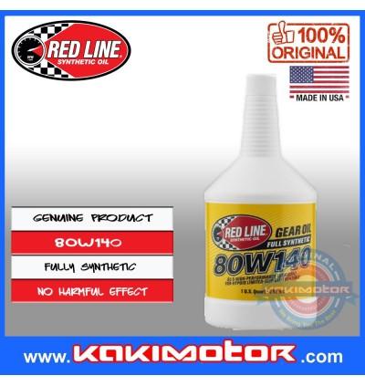 Red Line 80W140 GL-5 Gear Oil (946ml)