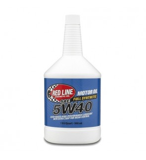 Red Line 5W40 Engine Oil (946ml)