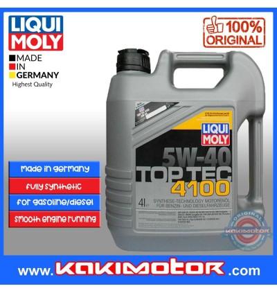 [Free Engine Flush]Liqui Moly Top Tec 4100 (4L) 5W40