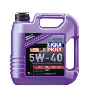 [Free Engine Flush]Liqui Moly Synthoil High Tech (4L) 5W40