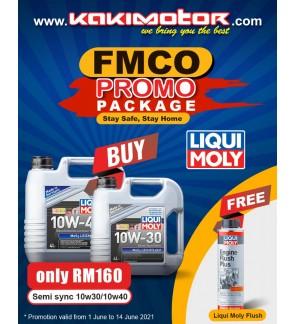 Liqui Moly Mos2 Leichtlauf 10W30 (4L) - FREE Liqui Moly Engine Flush