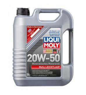 Liqui Moly Mos2 Low-Viscosity (5L) 20W50