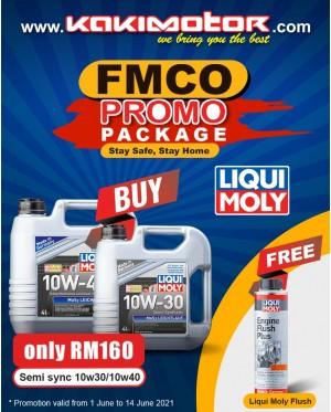 Liqui Moly Mos2 Leichtlauf 10W40 (4L) - FREE Liqui Moly Engine Flush