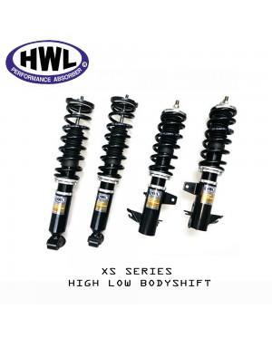 HWL XS Series Coilover Kit - Proton Wira / Waja / Gen.2 / Persona