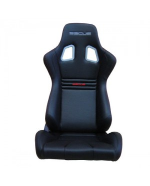 [1PC]SSCUS Sport Seat EVO PU - Black(EXCLUDE SLIDER)