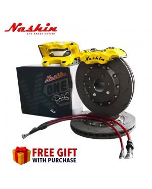 NASHIN K22 MINI 6 POT (286MM) BRAKE CALIPER KIT-PERODUA