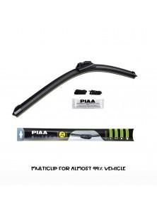 PIAA Si-Tech Multi-Adapter Silicone Flat Wiper Blade - 7 Clips