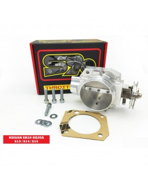 S90 THROTTLE BODY 70MM - NISSAN SR20 SILVIA S13 / S14 / S15