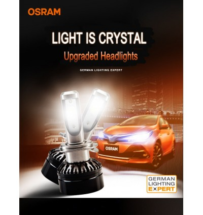 Osram LEDriving HL Crystal Headlamp Replacement Bulb (6000k) H11