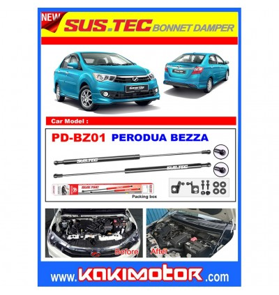 Sus-Tec Bonnet Damper for Perodua Bezza