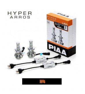PIAA H4 LEH130E HYPER ARROS ALL WEATHER EDITION 4000K LED
