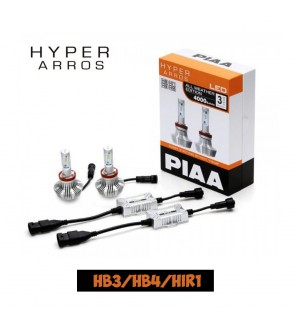 PIAA HB3/HB4 LEH131E HYPER ARROS ALL WEATHER EDITION 4000K LED